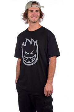 Spitfire Bighead Hi-VIS T-Shirt zwart(90501051)