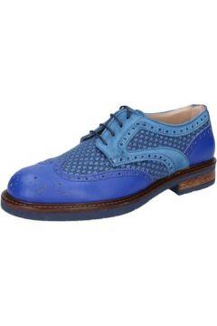 Ville basse Fdf Shoes élégantes bleu cuir daim BZ345(115398922)