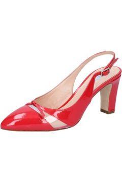 Sandales Calpierre escarpins rouge cuir verni BZ733(115398973)