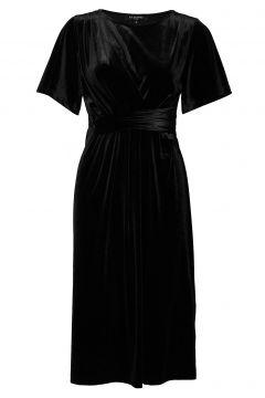 Dress Kleid Knielang Schwarz ILSE JACOBSEN(114163863)