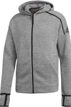 Sweat-shirt adidas M ZNE HD FR FELPA CON CAPPUCCIO ZIP GRIGIA(115478287)