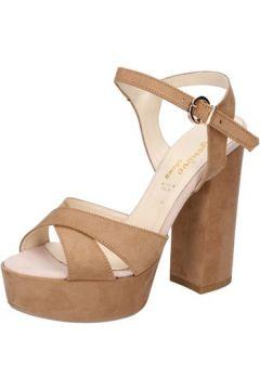 Sandales Geneve Shoes sandales marron daim BZ895(115399068)