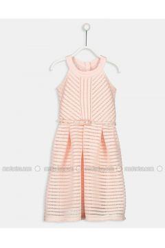 Pink - Age 8-12 Dress - LC WAIKIKI(110342165)