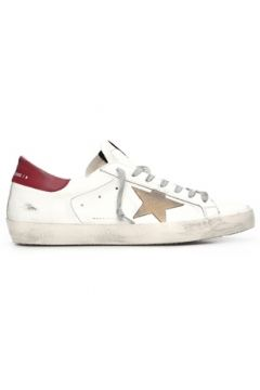 Golden Goose Erkek SuperStar Beyaz Deri Sneaker 40 EU(119785729)