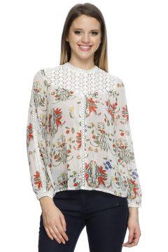 Endless Rose Beyaz Bluz(117648026)