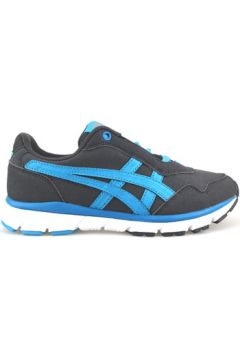 Chaussures Onitsuka Tiger sneakers gris cuir suédé bleu AG211(115395422)