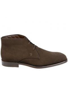 Boots Tod\'s Boots Salomon Chocolat(127852782)