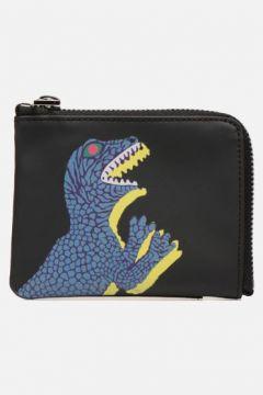 SALE -40 PS Paul Smith - Men Wallet CRN Zip Dino - SALE Portemonnaies & Clutches / schwarz(111618988)