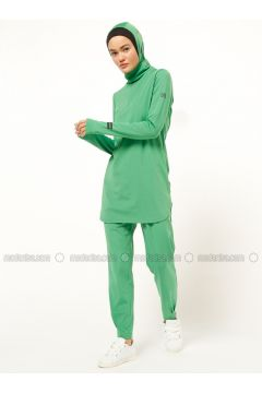 Green - Polo neck - Tracksuit Top - FD SPORTS(110335475)