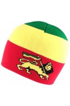 Bonnet Nyls Création Bonnet Court rouge Jamaique avec Lion(115397438)