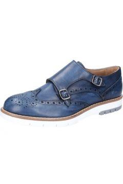 Chaussures Di Mella élégantes bleu cuir AB927(115393883)