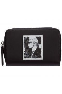 Women's genuine leather wallet credit card bifold capsule legend(118230115)