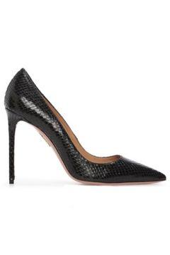 Aquazzura Kadın Purist Siyah Krokodil Dokulu Deri Stiletto 36 EU(120498214)