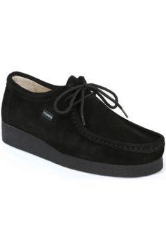 Chaussures Tower London - Chaussures Noir Daim(115600428)
