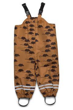 Edelweiss Mouse High Trousers Outerwear Rainwear Bottoms Braun MINI RODINI(119481816)