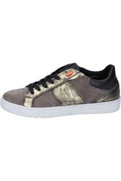 Chaussures Impronte sneakers beige daim bronze cuir BY899(115401715)