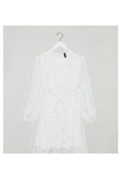 Y.A.S Petite - Deryn - Vestito midi a maniche lunghe allacciato in vita con stampa floreale-Multicolore(122471990)
