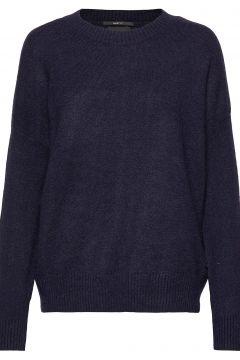 Crewneck Knit Strickpullover Blau SCOTCH & SODA(114156202)