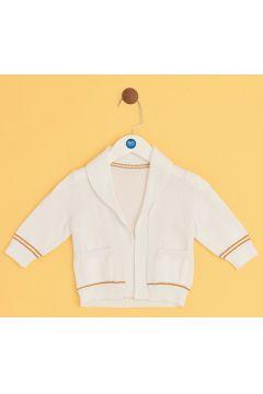 BG Baby Beyaz Erkek Bebek Hırka(114005812)