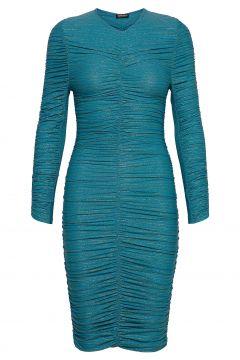 Blake, 850 Glitter Jersey Kleid Knielang Blau STINE GOYA(117467257)