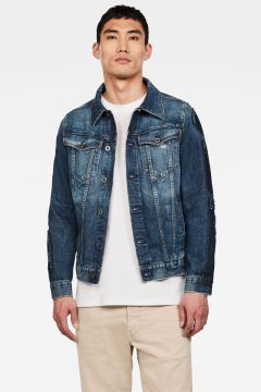 G-Star RAW Men 3301 Badges Slim Jacket Medium blue(124639256)