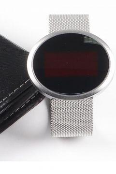 Ricardo Silver Dokunmatik Dijital Unisex Kol Saati(116830292)