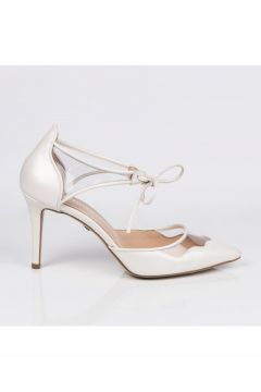 Jabotter Anika Sedefli Beyaz Gelin Ayakkabısı(121225911)