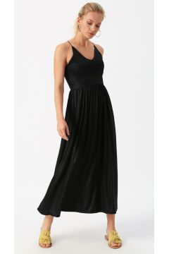 Only Askılı Siyah Elbise(113979038)
