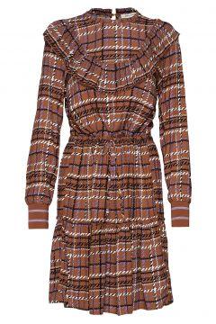 Dress Kleid Knielang Braun SOFIE SCHNOOR(114165473)