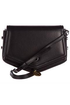 Women's leather cross-body messenger shoulder bag arrow(118073367)