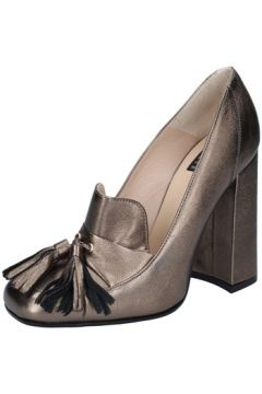 Chaussures escarpins Islo escarpins gris cuir BZ227(115393977)
