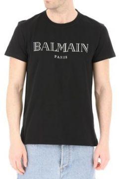 T-shirt Balmain Tee Shirt Stretch Rh11601 -(101638414)