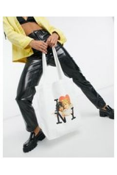 Fiorucci - NY Angels - Maxi borsa color bianco sporco-Crema(123794556)