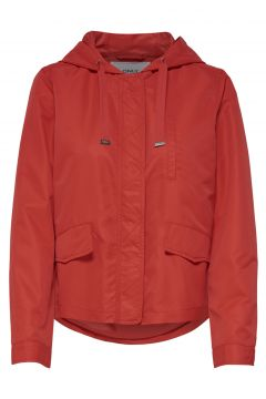 Only Kapüşonlu Kırmızı Ceket(108914327)