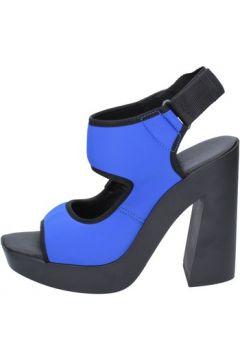 Sandales Vic sandales bleu textile BT271(98484530)