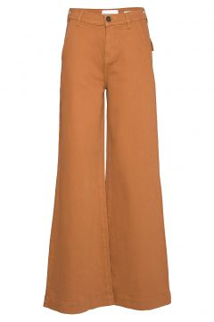 Kersee French Jeans Antique Colour Jeans Mit Schlag Braun TOMORROW(114153487)