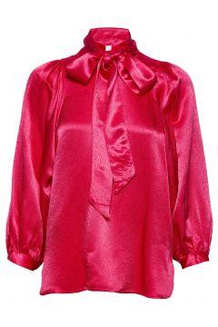 Moonlight Ls Blouse Bluse Langärmlig Pink SECOND FEMALE(114153578)