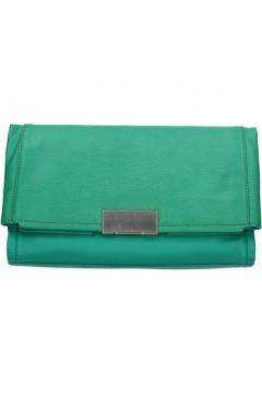 Pochette CK Collection pochette vert cuir AB981(101653109)