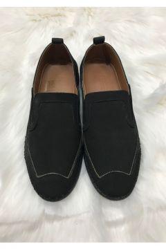 Darkwood Erkek Siyah Hakiki Deri Casual Ayakkabı(120457279)