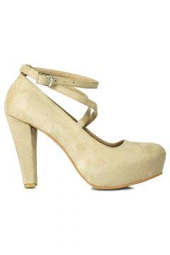 Loggalin Kadın Ten Topuklu Ayakkabı(122382132)