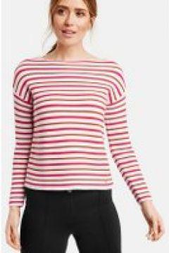 Sweter w modne paski Multicolor 46/L(115897167)