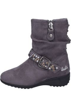 Bottines enfant Lulu fille bottines gris daim BS31(101548893)