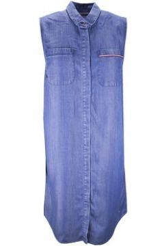 Robe Tommy Hilfiger Robe Tammy en chambray bleu brut pour femme(88455703)
