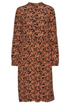 Mila Dress Kleid Knielang Braun NUÉ NOTES(114164168)
