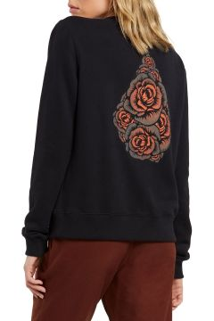Volcom Sound Check Fleece Damen Pullover - Black(120113045)