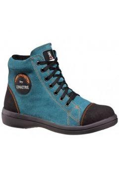 Chaussures Lemaitre BASKET DE SECURITE FEMME VITAMINE HAUTE BLEU OCTANE(115600675)