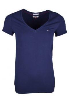 T-shirt Tommy Jeans T-shirt col V bleu marine pour femme(115399741)