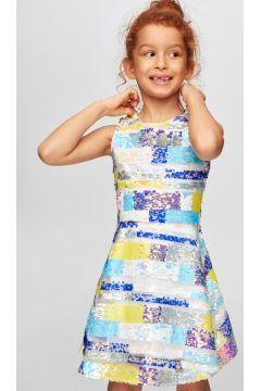 Tyess B&G Renkli Kız Çocuk Elbise(114005952)