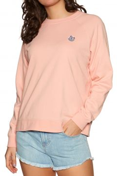 Element Branded Crew Damen Pullover - Coral Pink(110363252)