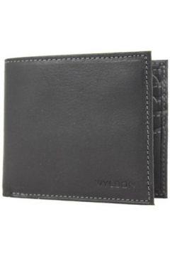 Portefeuille Wylson Porte cartes ultra plat en cuir mat Rio Noir(101652875)